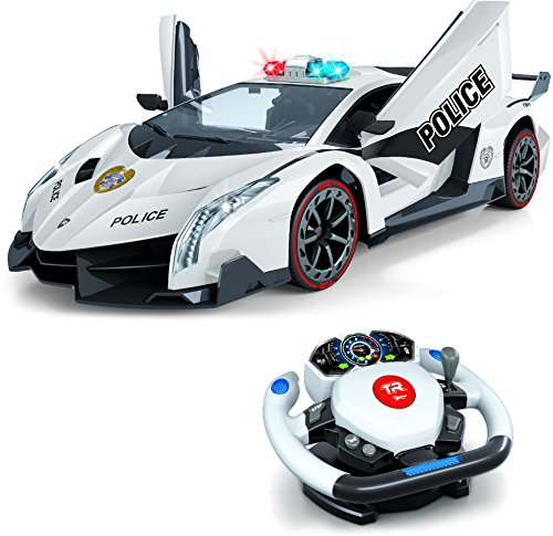 top-race-auto-de-policia-a-control-remoto-movimiento-4d-control-de-gravedad-y-del-volante-escala-112