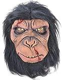 costume halloween adulte effrayant Zombie Accessoire déguisement masque CAOUTCHOUC MASQUE - Masque de chimpanzé, One size, One size