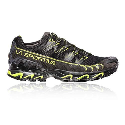La Sportiva Ultra Raptor, Scarpe da Trail Running Uomo, Multicolore (Nero/Verde Mela 000), 44 EU