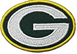 Green Bay Packers Logo NFL Badge Embroidered Patch 3 Sew-on or Iron-on by Jean Junction