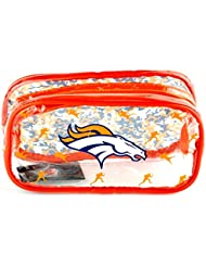 Denver Broncos NFL American Football Team Clear Pencil Case Camouflage Official