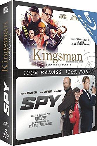 Kingsman + Spy - Coffret 2 Films [Blu-ray]