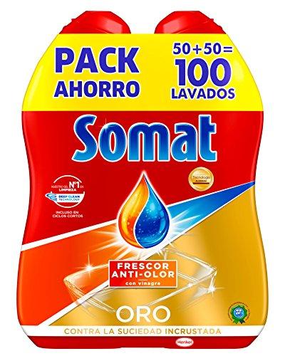 Somat Oro Gel Lavavajillas Vinagre - 100 Lavados 1.8