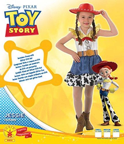 Imagen de rubie'sdisfraz de jessy de toy story, para niñas, con falda, producto oficial de rubie's, tallamediana alternativa