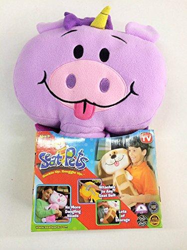 Seat Pets Purple Unicorn Car Seat Belt Toy
