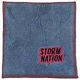 Storm stac901rd Bowling Handtuch, rot/grau,