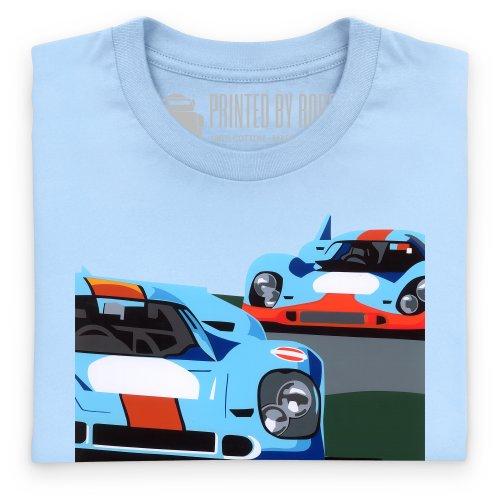 Speed Icons 917 LM T-Shirt, Herren Himmelblau