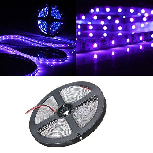 MASUNN 0.5/1/2/3/4 / 5M SMD3528 Lámpara de Tira de LED Flexible, no Impermeable, Resistente al Agua...