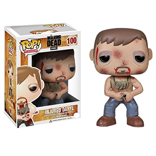 Funko pop de The Walking Dead - Daryl herido con cabeza móvil