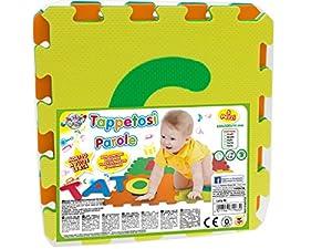 TEOREMA 71963 Mats Puzzle Formar Palabras, Colores Surtidos