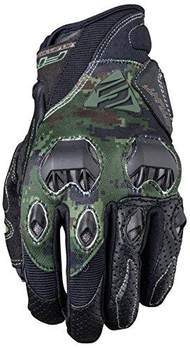 Cinque Advanced stunt EVO replica Adult Gloves, Army, taglia 12