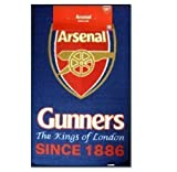 Arsenal FC Crest Teppich