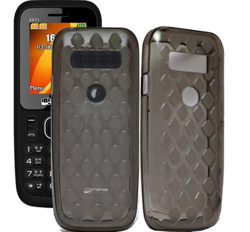 Micromax X071 Case,Grey Soft ,Lightweight,Shock Absorbing Tpu Back Case Cover Micromax X071  available at amazon for Rs.179