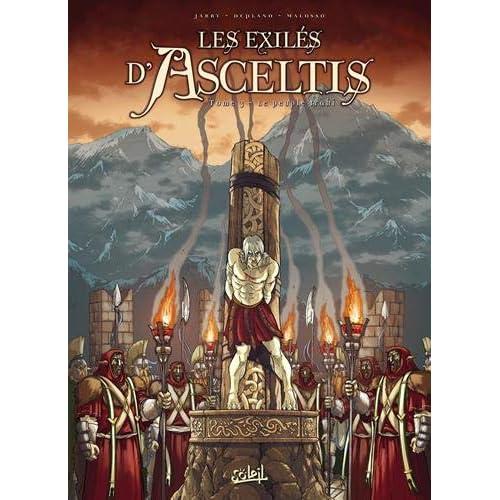 Les exilés d'Asceltis, Tome 3 : Le peuple trahi