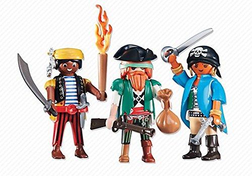Playmobil 6434. Conjunto 3 piratas