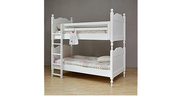 Etagenbett Landhausstil : Bett hochbett michelle ii etagenbett weiß kinderbett landhaus