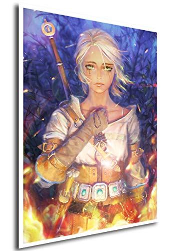 Instabuy Poster The Witcher III (C) - Ciri - A3 (42x30 cm)