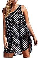 today-UK Women Polka Dot Bathing Suit Bikini Cover Up Beach Dresses XS 1