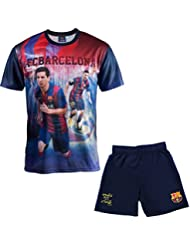 Ensemble Maillot + short Barça - Lionel MESSI - Collection officielle FC BARCELONE - Taille enfant garçon