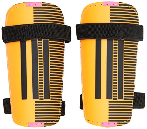 Adidas 11Lite-Parastinchi, Unisex, Schienbeinschoner 11 Lite, Solar Gold/Black/Shock Pink S16/Silver Met, M