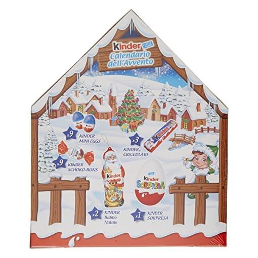 Calendario Avvento Kinder.Kinder Calendario Avvento Appendibile Snack Al Cioccolato