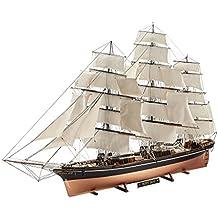 Revell Juego de construcción, maqueta de barco 1:96–Cutty Sark a escala 1:96, nivel 5, réplica exacta con muchos detalles, barco, 05422