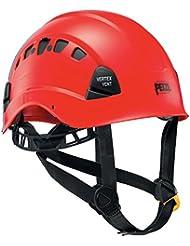 Petzl Helm Vertex Vent - Casco de escalada, color rojo, talla XS/XXL (53 - 63 cm)