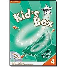 Kid's Box American English  4 Teacher's Resource Pack with Audio CD