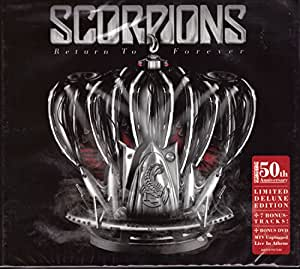 SCORPIONS Return To Forever/LIVE special deluxe CD/DVD set