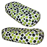 4FT BEAN BAG SOFA - Kids Print Giant Beanbag Childrens (Green Spotty)