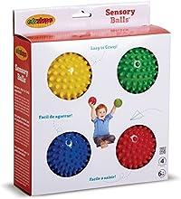 Edushape: Sensorial de bola de 4 pulgadas juego de 4.
