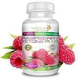 immagine prodotto Raspberry Ketone Plus - OFFERTA - Il più potente al mondo che contiene anche la garcinia cambogia per prevenire la fame e accelerare il metabolismo. Ritrova la linea in modo naturale grazie all'efficacia dell'estratto di raspberry ketone