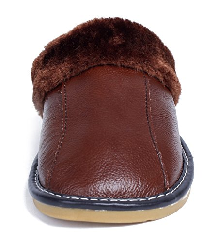 Pantofole Cotone Del Pattini Piane Basse Delle Marroni Scarpe Ageemi Donne vp86q7w