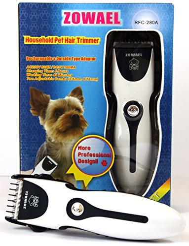 Tier Haartrimmer Akku Schermaschine Haarschneidemaschine Hunde Katzen Tierhaar