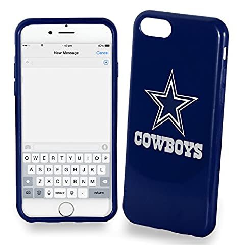 Forever Collectibles Unisex Dallas Cowboys Solid Iphone 7 Cover, Chicago Cubs, 4.7 Inches