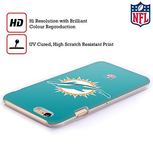 Offizielle NFL Camou Miami Dolphins Logo Ruckseite Hülle für Apple iPhone 5 / 5s / SE Einfarbig