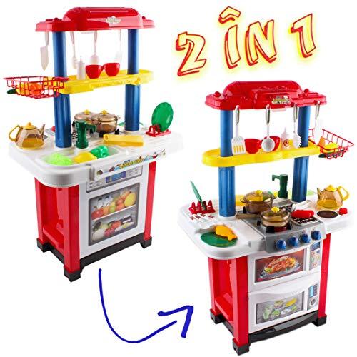 Cocina Chef Luces Con Cocinita De Little Happy Juguete 5S3RqLc4Aj