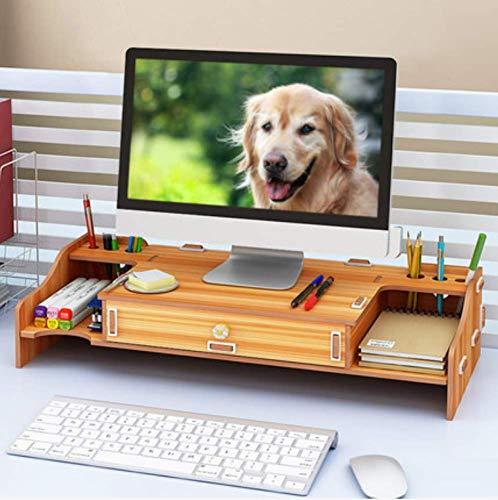 FUGUOGUO Office Storage Cabinet, Speicherschublade, Computer Bildschirm Bildschirm Erhöhung Bürobedarf Schublade Desktop Storage Box Bracket Tastatur Sortierung Regal (Mesh-schublade-storage Box)