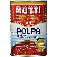 Mutti Polpa feinstes Tomatenfruchtfleisch 100% Italienisch, 400 g