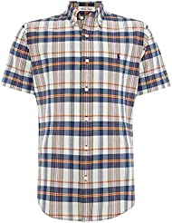 Polo Ralph Lauren - Homme - Short-Sleeved Madras Shirt Chemise Casual - Manche Courte