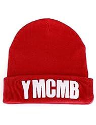 Bonnet YMCMB rouge sans pompon