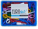 Euro Stil - Artículos peluquería - Pinzas pequeñas para permanente - 60 unidades