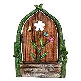 Best Gifts & Decor Garden Decors - Wonderland Plastic Miniature Flower Door for Planter Decoration Review