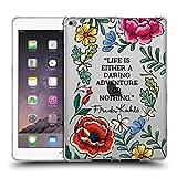 Head Case Designs Officiel Frida Kahlo Aventure Audacieuse Art Citations Étui Coque en Gel Molle iPad Air 2 (2014)