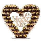 HKFV Ferrero Display Ständer Hochzeitszubehör Party Etagere Dessert Display, Cupcake Ständer, Porzellan Törtchen Gebäck Muffin Obst Halter für Geburtstag, Hochzeit, Weihnachten