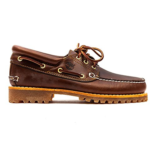 Timberland Trad Hs 3 Eye Lug, Chaussures basses homme Braun (Marron Pull-Up)