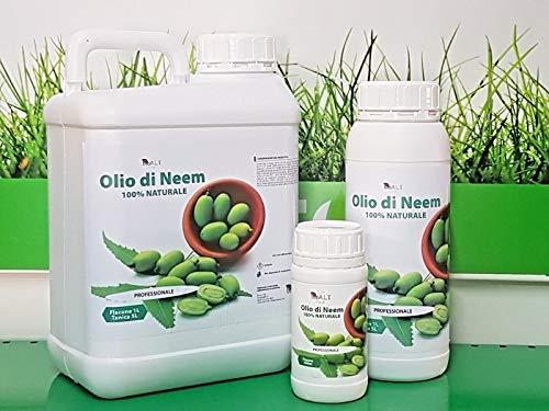 olio di neem 1 lt insetticida repellente biologico orto giardino 100% naturale professionale