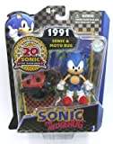 """Cheapest Sonic 20th Anniversary Sonic Through Time 3"""" Sonic & Moto Bug on Nintendo Wii"""