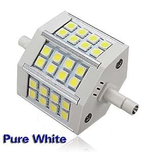 SODIAL(R) R7S 24 LED 5050 SMD Ampoule Blanc e Lampe non-Gradable