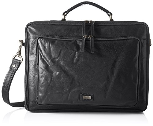 Spikes & Sparrow - Business Bag, Borse per PC portatili Unisex - Adulto Nero (Black)